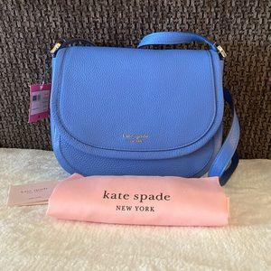 NWT Kate Spade Roulette Large Saddle Bag